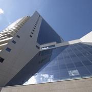 Фасады вентилируемые с алюминиевыми композитными панелями фото