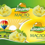 Маргарины бутербродный Сливочный вкус Жирность 52% Жиры пищевые, маргарин Масложировая продукция фото