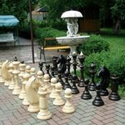 Шахматы садовые напольные под заказ фото