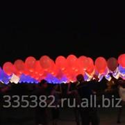 Светящиеся воздушные шарики фото
