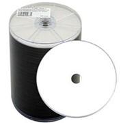 Оптический диск DVD плюс R 4.7 Гб CMC 16-ск. с полнозакрашенной поверхностью для струйной печати в упаоквке 50-100шт. фото