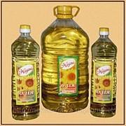 """Масло подсолнечное рафинированное """"Жадана"""" фото"""