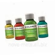 Колер паста для колеровки водно-дисперсионных и масляных красок 0,1 л ТМ Kolorit чорный фото