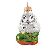 Ёлочное украшение Кролик в сапоге фото