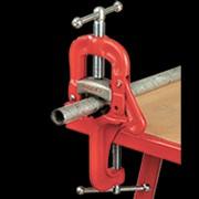 Откидные трубные тиски RIDGID со струбциной фото