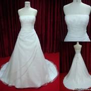 Платья свадебные модель - А007, цвет - слоновая кость фото