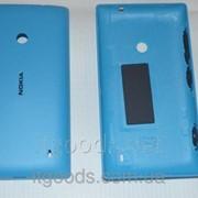 Крышка задняя синяя для Nokia Lumia 520 3123 фото