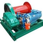 Лебедка электрическая TOR ЛМ (тип JM) г/п 10,0 тн Н=450 м (б/каната) фото