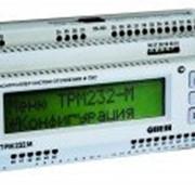 Контроллер для одно- и двухконтурных систем отопления и ГВС ОВЕН ТРМ232 фото