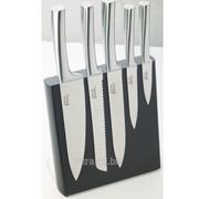 Набор ножей на магнитном держателе 5 шт (81397) фото