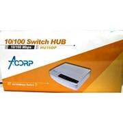 Коммутатор Acorp HU16DP 10/100 Mbps 16-port Plastic case фото