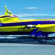 Морское пассажирское судно на подводных крыльях Комета 120М фото