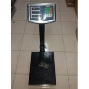 Торговые весы, платформенные, напольные до 100 кг. фото
