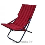 Шезлонг, 55 * 115 см, красный фото