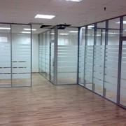 Офисные и торговые стационарные перегородки! 0702 706 704 фото
