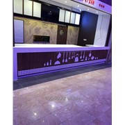 Столешницы из искусственного камня для баров и ресторанов фото