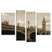 Картина Лондонский мост - сепия фото