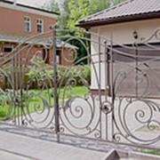 Ворота распашные РВ-6 фото