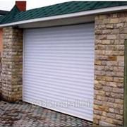 Ворота гаражные рулонные фото