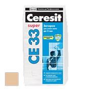 "Затирка цементная ""CE 33 Super"" №46 Карамель, 5 кг. Церезит фото"