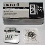 Maxell SR 1120SW G8 (381) фото