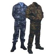Костюм для охранных структур синий камуфляж фото