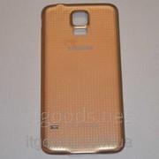 Крышка задняя золотая для Samsung Galaxy S5 G900A G900F G900H G900M G901F G903F G906K G9006V G9008V G9009D 4603 фото