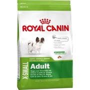Xsmall Adult Royal Canin корм для щенков, От 10 месяцев до 8 лет, Пакет, 11,0кг фото