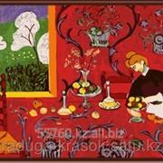 Картина по номерам Анри Матисс Красная комната фото