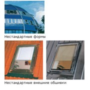Мансардные окна нестандартные фото