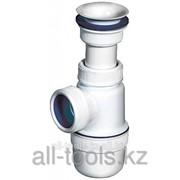Сифон Зубр Эксперт колбовый для моек и раковин, выпуск - пластмассовый Код:51811 фото