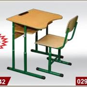 Мебель школьная, Парта школьная(антисколиозная, регулируеться), мебель детская, мебель для школы фото
