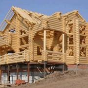 Строительство деревянных коттеджей, бань и объектов коммерческой недвижимости фото