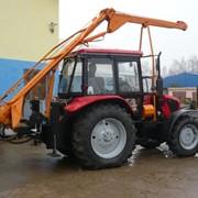 Бурильно-крановая машина на базе трактора БЕЛАРУС 92П фото