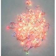 Гирлянда электр 8,5м (200л) БЕЛАЯ цвет лампочки фото