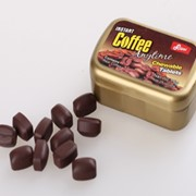 Жевательное драже кофейное фото