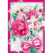 """Мини-открытка Горчаков """"Розовые цветы"""" 29.933.00 фото"""