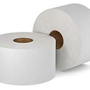Высококачественная двухслойная туалетная бумага в больших рулонах фото