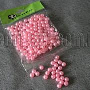 Бусы светло-розовые 8 мм 50 гр 3250 фото