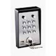 Клавиатура кодовая 9-кнопочная / накладная с ключом и подсветкой (16 777 216 кодовых комбинаций) фото
