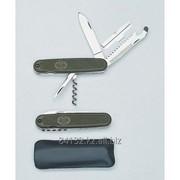 Нож перочинный 4х предметный армии BW фото