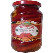 Перец красный сладкий маринованный (0,720 л/720 г) фото