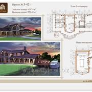Проект деревянного дома фото