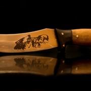 Гравировка на ноже фото