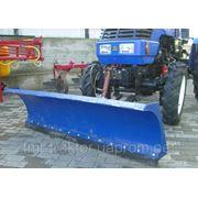 Отвал поворотный для мини-трактора фото