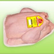 Тушка цыпленка-бройлера 1 кат. на подложке фото