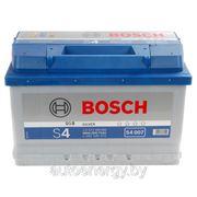 Автомобильный аккумулятор Bosch S4 007 572 409 068 (72 А/ч) купить акб с доставкой фото