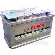 Аккумуляторы BOSCH 0092S60110 80Ah 800A 315/175/190 AGM фото
