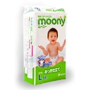 Подгузники Moony 9-14 кг фото