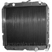 """Радиатор охлаждения УРАЛ-5323, 4320 ЯМЗ-двигатель (медный, 4-рядный) """"ШААЗ"""" фото"""